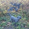 Zoeterwoude kunstwerk kooikerhond met eenden.jpg