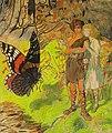Zofia Plewińska-Smidowiczowa - Kompozycja fantastyczna z motylem.jpg