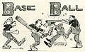 """BaseBall"" with umpire art, from- El Rodeo (1909) (40099) (cropped).jpg"