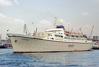 MTS <i>Oceanos</i> Cruise ship that sank in 1991