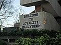 """Welcome to Loyalist Ballybeen"" - geograph.org.uk - 1706291.jpg"
