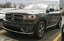 Dodge durango wikipedia refreshed headlights and grille for 2014 the back of a dodge durango publicscrutiny Choice Image