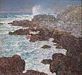 'Seaweed and Surf, Appledore, at Sunset' by Childe Hassam.JPG