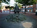 'The Borderland Farmer', Festival Square, Oswestry - geograph.org.uk - 910799.jpg