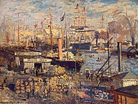 'The Grand Quay at Havre' by Claude Monet, 1874, Hermitage.JPG