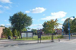 Åmotfors - Image: Åmotfors centrum