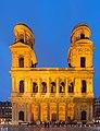 Église Saint-Sulpice de Paris facade de nuit.jpg