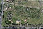 Ópusztaszer, Csillagösvény Labirintus légifelvétele.jpg