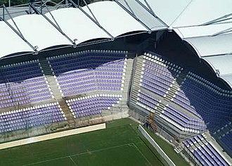 Szusza Ferenc stadion - Image: Újpestutestadioncive rtanlegi