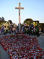 Čakovečko groblje; Svi sveti - središnji križ.jpg