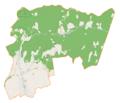 Łękawica (gmina) location map.png