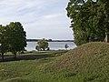 Širvėna from Biržai Castle grounds.jpg