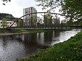 Železný Brod - lávka přes Jizeru mezi nábřežím Obránců míru a Jiráskovým nábřežím.jpg