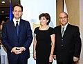 Ο ΥΠΕΞ κ.Δ.Δρούτσας με τον Κύπριο Πρέσβυ στην Αθήνα κ.Ι.Ιωσήφ και την σύζυγο του (5060662808).jpg