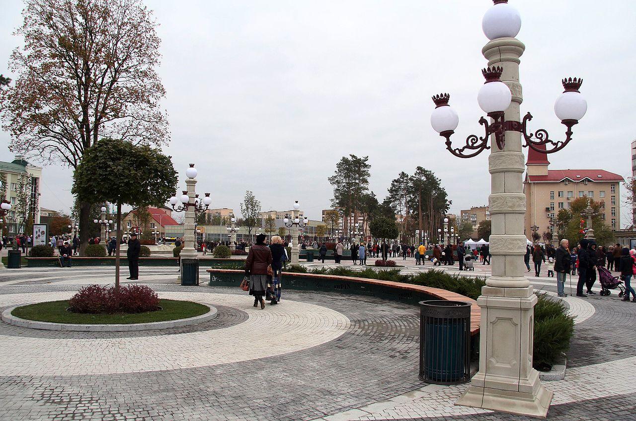 Центральная площадь Ирпеня