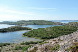 Kuzova Archipelago, a protected area of Russia in Kemsky District