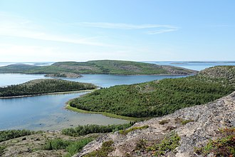 Kemsky District - Kuzova Archipelago, a protected area of Russia in Kemsky District