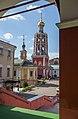 Вид на церковь Толгской иконы Божией матери и колокольню монастыря.jpg