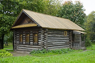 "Vasily Chapayev - Сhapayev's birthplace (today the house-museum ""Chapayevs' Log House"")"