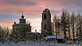 Зимний рассвет возле Воскресенской церкви.jpg