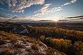 Крейдова флора, осінній захід сонця.jpg