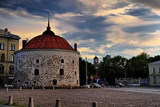 Vyborg town wall - Image: Круглая башня. г. Выборг