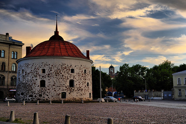 The Round Tower in Vyborg