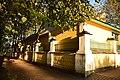 Ограда с воротами церкви Покрова Пресвятой Богородицы. Другой вид. Акулово.JPG