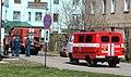 ПНС-110 и штабной автомобиль, Котлас.JPG