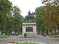 Памятник Петру I, Кленовая улица02.jpg