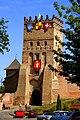 Святкова В'їзна вежа Луцького замку.jpg