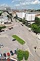 Тернопіль - Майдан Мистецтв - Вигляд з будинку № 3 на вул. Медовій - 12062404.jpg