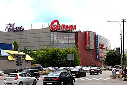 Shopping center, Zyablikova District
