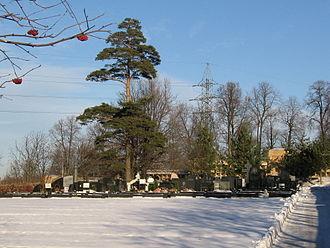 Troyekurovskoye Cemetery - The Troyekurovo Cemetery