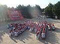 Միասին երիտասարդական շարժման իրականացրած ֆլեշմոբը «Միասին 2011» կրթական ֆորումի ընթացքում.jpg