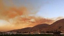 File:دخان انفجار بيروت انتشر في كل سماء لبنان.webm