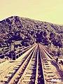 صورة لجبل و ممر سكة حديدية.jpg