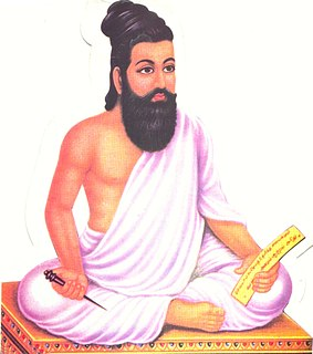 Thiruvalluvar Tamil poet and philosopher