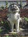สิงห์ รอบพระเจดีย์ วัดธรรมิกราช Lions around the pagoda of Wat Thammikarat.jpg