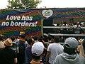 """""""Love has no borders!"""" - Die Grünen at Europride 2019.jpg"""