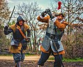 """""""Military Through the Ages,"""" March 19-20, 2016, at Jamestown Settlement, Jamestown, Virginia. Re-enactors explaining history have been meeting each year at Jamestown Settlement since 1984. 2016's (25283728834).jpg"""