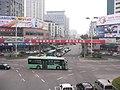 南站立交桥上拍飞霞南路 - panoramio.jpg
