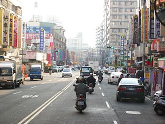 Taiping District, Taichung - Image: 太平樹孝路