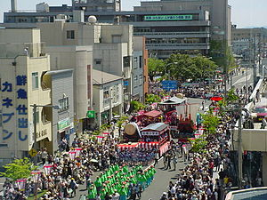 Sakata, Yamagata - Sakata Festival, held annually in May