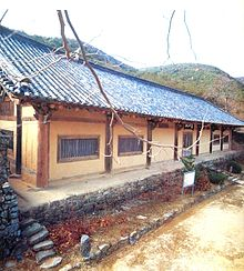 Yeongsanjeon Hall of Geojoam Hermitage, National Treasure 14.[1]
