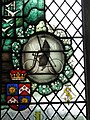 -2019-01-25 Stained glass widow of Canon Hubert Marcon, Saints Peter and Paul, Edgefield, Norfolk.JPG