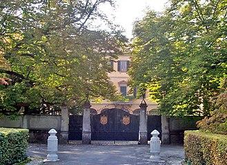 Arcore - Villa San Martino, the personal residence of Silvio Berlusconi.