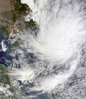 2010 Pacific typhoon season - Image: 01W Jan 18 2010 0330Z