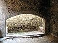 034 Castell de Montsoriu, llar de la cuina.jpg
