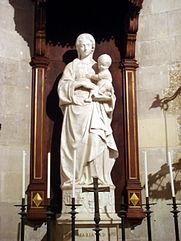 0409_-_Siracusa_-_Duomo_-_Antonello_Gagini,_Madonna_della_neve_(1512)_-_Foto_Giovanni_Dall'Orto_-_22-May-2008.jpg